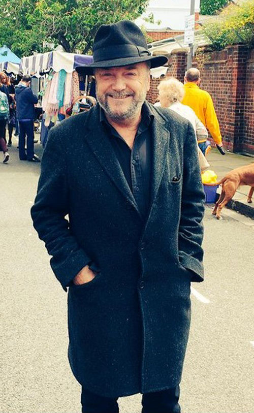 Galloway recently announced he would be running for Mayor of London
