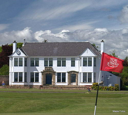 The new clubhouse will play host to the European tour