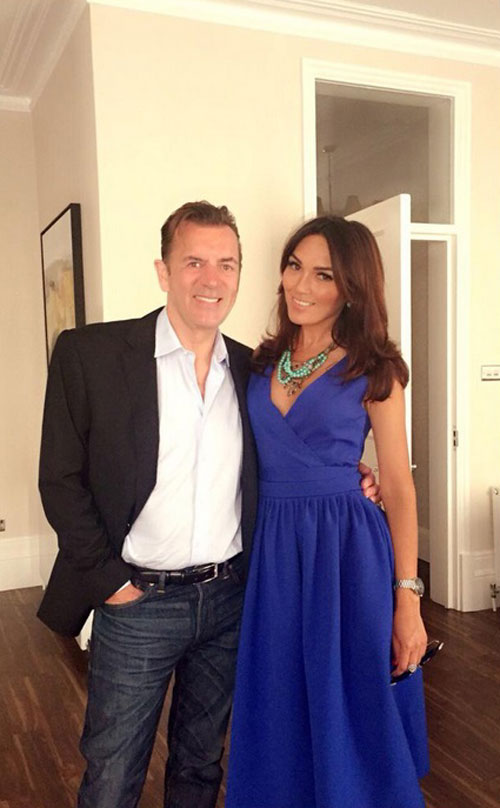 Bannatyne has been sharing snaps with his new flame - Nigora Whitehorn