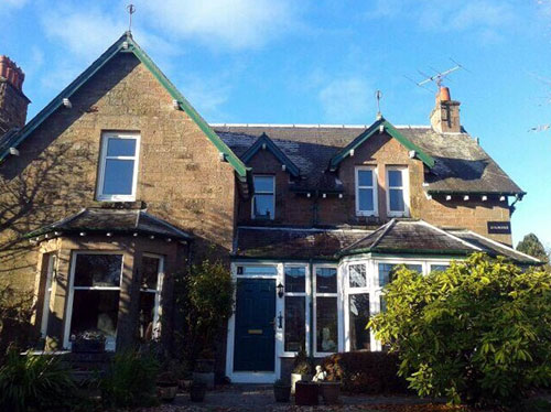 Jillian owns the Gilmorehouse B&B in Blairgowrie