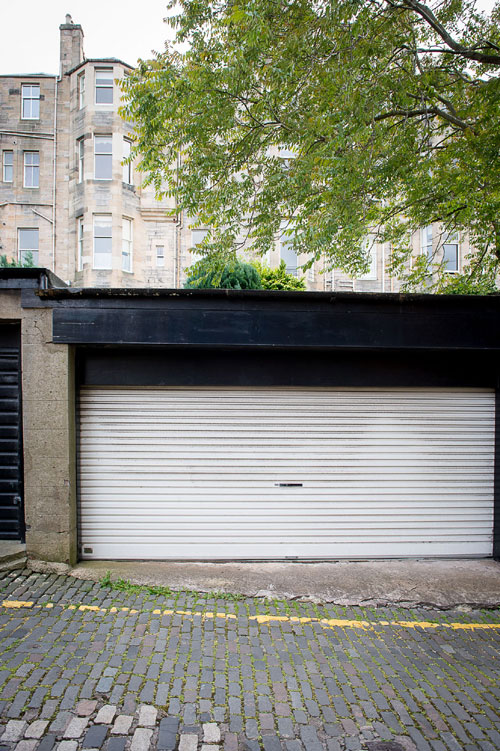 The garage costs the same as a three-bedroomed house