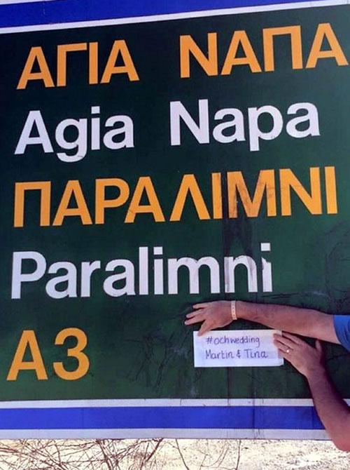 Martin also has fans in Ayia Napa