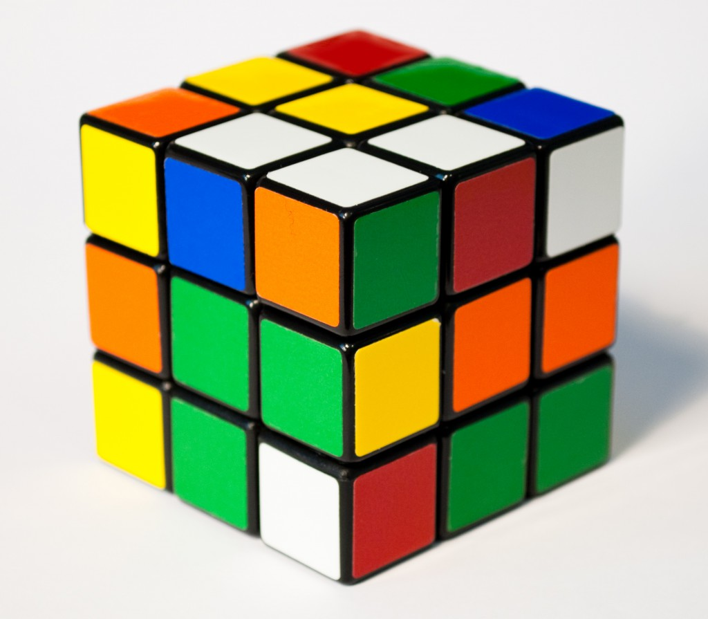 Elite Cubers can solve the puzzle in a matter of seconds