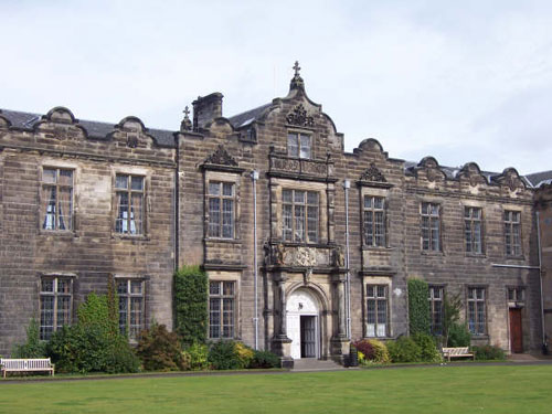 The research was carried out at the University of St Andrews