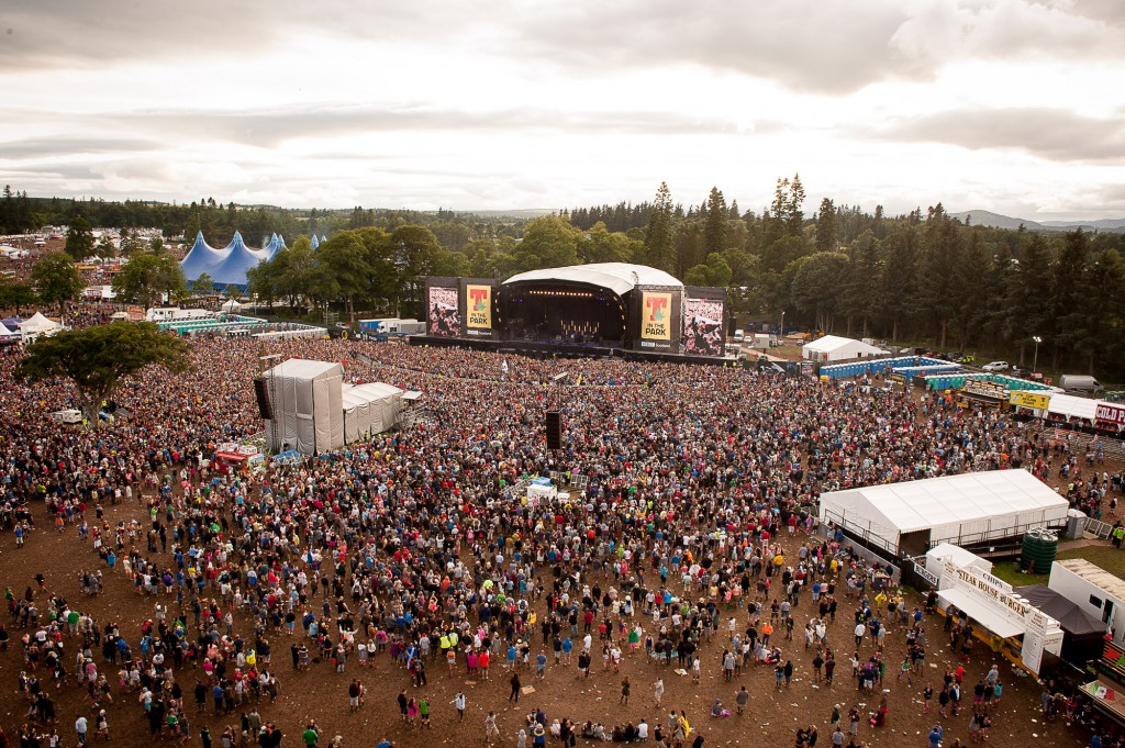 T in The Park, Day two, Strathallan Castle, 12th July 2015
