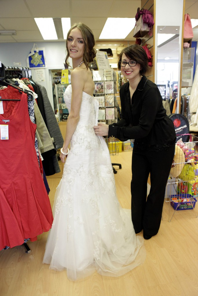 1 500 Designer Wedding Dress Donated To Edinburgh Charity Shop