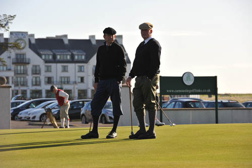 The 144th Open teed off yesterday
