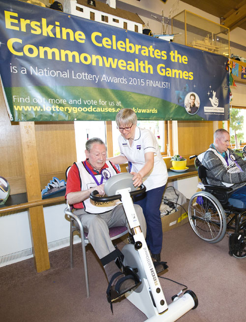 98-year-old John Bowman competed in the games