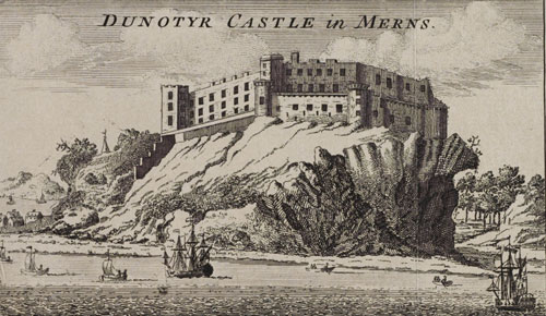 The castle has also played host to Mary Queen of Scots, James VI and Charles II over the years