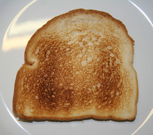 "One patient said it was ""a shame"" she couldn't have toast"