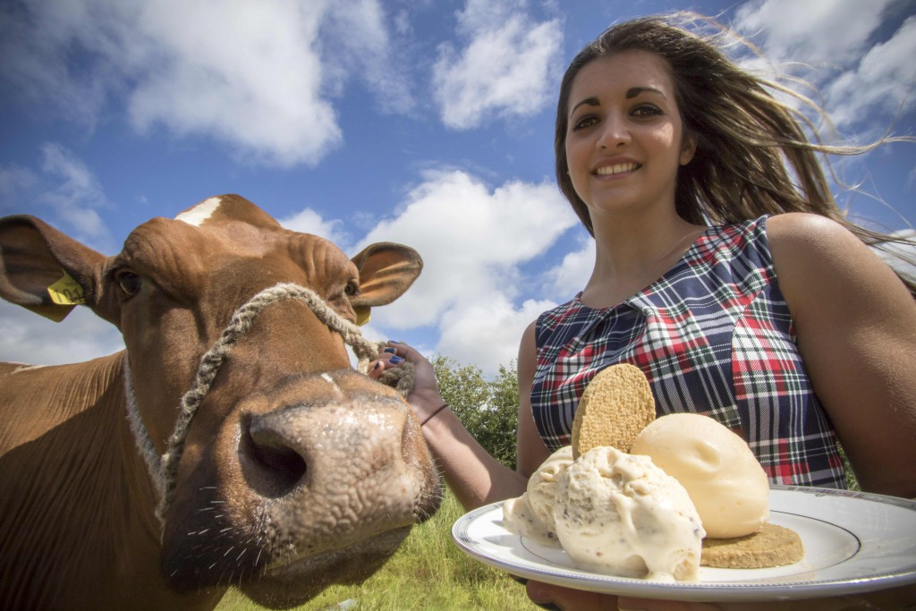 PIC2- Vicky Campbell, 20, from Glen Urr, 'Ladybird' and haggis ice cream.jpg