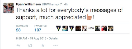 Williamson Tweet