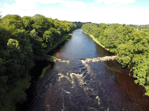 The River Dee croys will be destroyed