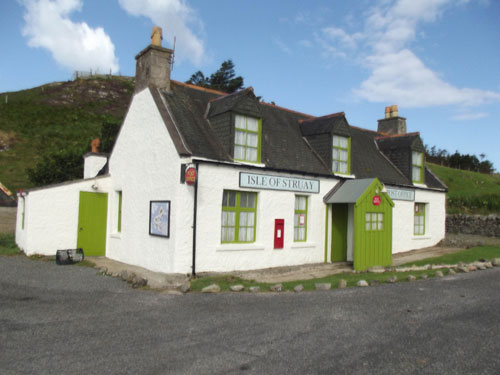 The BBC filmed there TV series for the children's show Katie Morag in this house-Scottish Property News