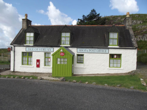Katie Morag's house is up for sale on the Isle of Lewis in Tolsta which was used by the BBC