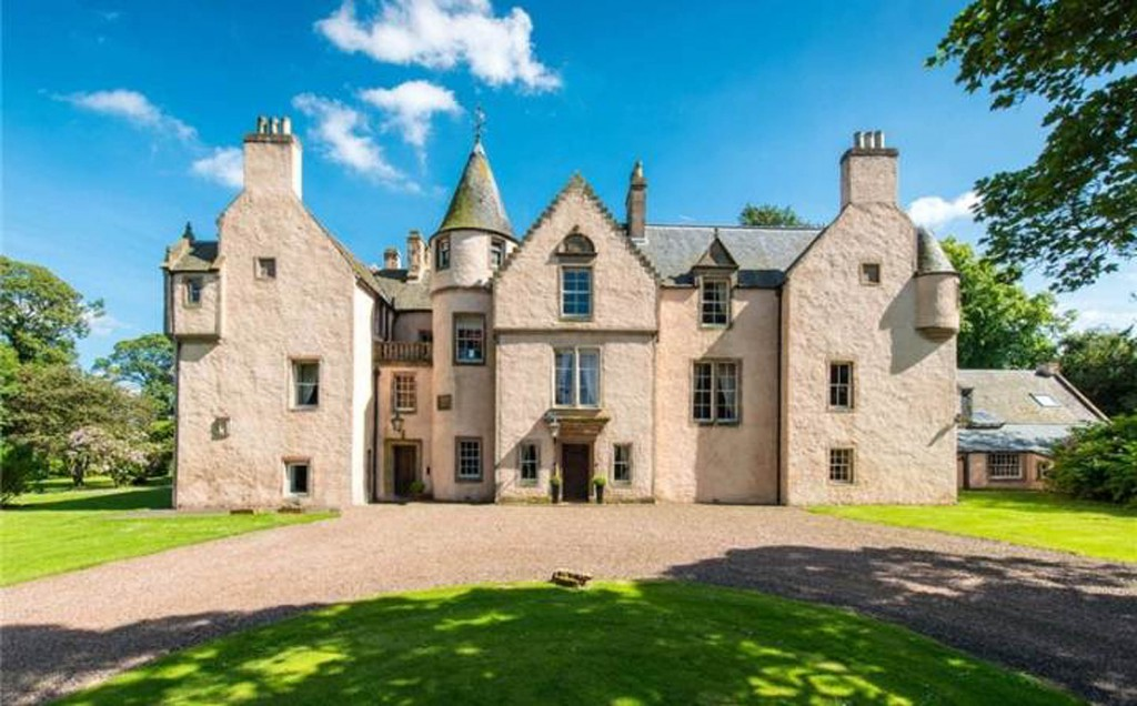 A BEAUTIFUL baronial mansion boasting superb views of unspoilt countryside is on sale for £1.5m - but it comes with a tragic and horrific history. Keith Marischal House is the place where hundreds of witches spent their last night before being executed. More than three centuries ago, the condemned women were locked in the chapel near to the mansion house in Humbie, East Lothian. The ruined chapel, now a scheduled ancient monument, comes with the with offers over £1.5m price tag, which also includes ten acres of grounds, the seven-bedroom mansion, and historic tower house. Although now a place of tranquil beauty, Keith Marischal House was drawn into the North Berwick Witch hunts which took place between 1590 and 1678.