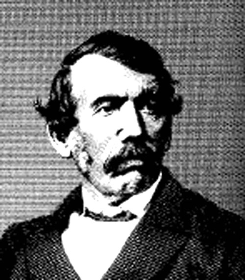 The legendary Scots explorer, David Livingstone