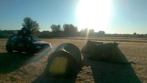 Camping in Uzbekistan