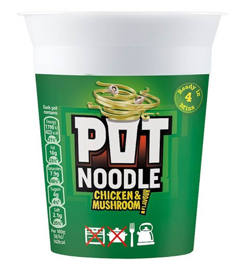The noodles that he did want