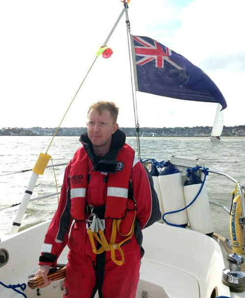 William McNeilly used to work for the Royal Navy at Faslane