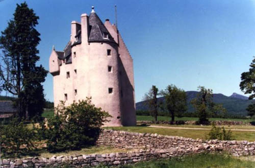 Pitfichie castle has been lovingly restored to its original appearance