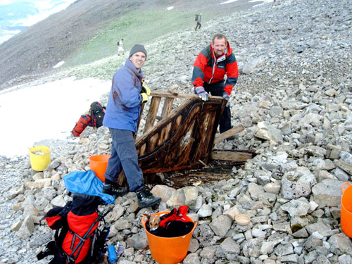 A piano was once found underneath a cairn