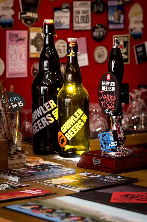 The Growlers come in one, two and three litre sizes