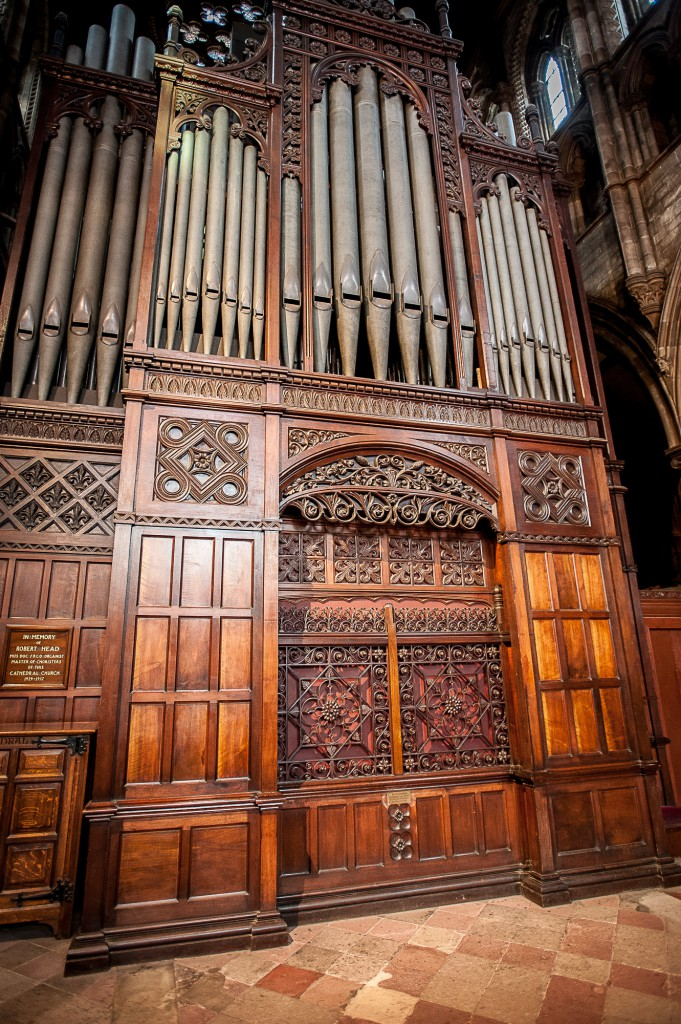 A homeless man has been sneaking in to St Mary's Cathedral in Edinburgh and sleeping in the organ at night. IN PIC................. (c) Wullie Marr/DEADLINE NEWS For pic details, contact Wullie Marr........... 07989359845