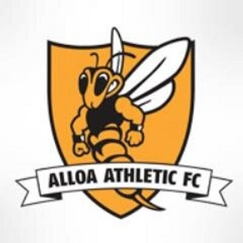 alloa badge