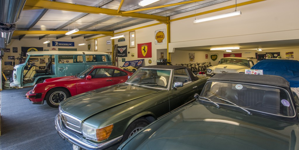 Roy's collection of cars