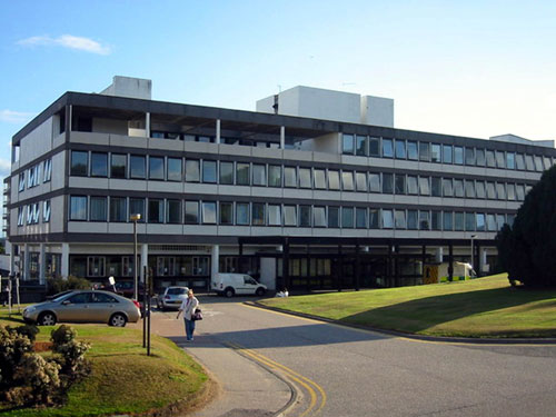 Aberdeen Royal Infirmary, where the surgery was carried out