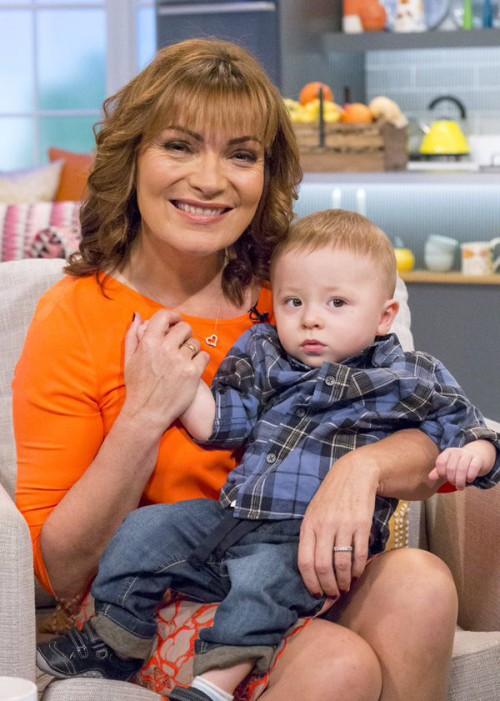 Lorraine with Callum
