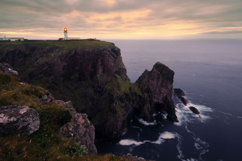 The lighthouse at Cape Wrath, Durness