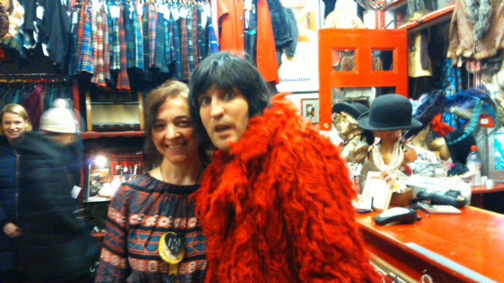 Noel Fielding and Veronica