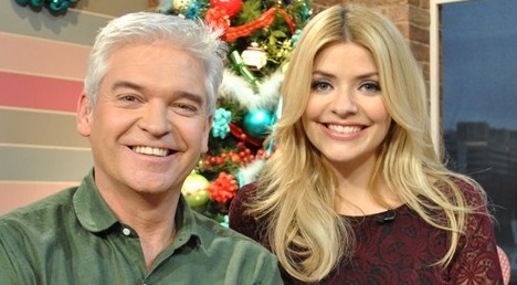 The boy and his mum were interviewed by Phillip Schofield and Holly Willoughby