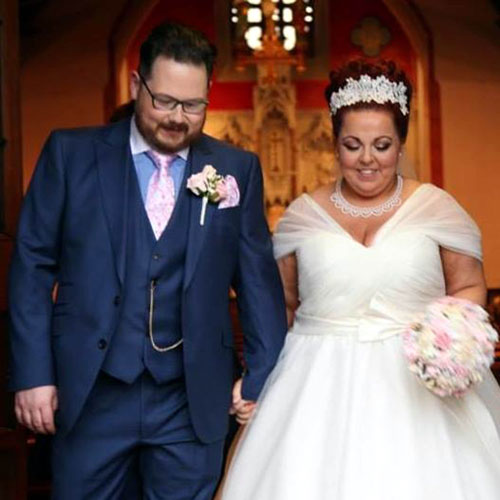 Stephanie is now happily married to Ben