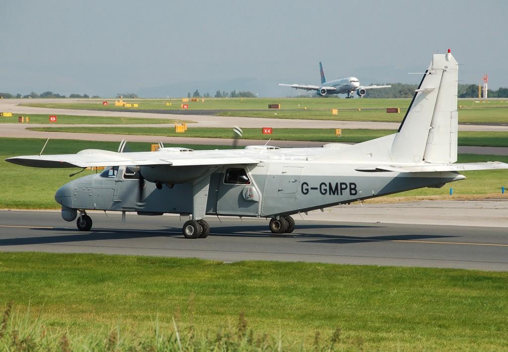 GMP's surveillance plane (credit: Adrian Pingstone)