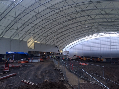 Oriam will boast a full size indoor pitch