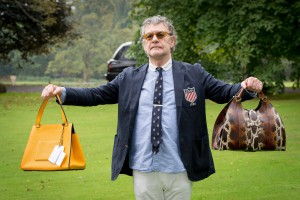 A man bag nearly ended Vettriano's illustrious career