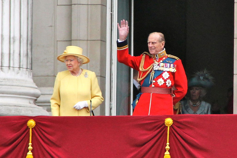 The Queen stays at the Palace of Holyroodhouse when she is in Edinburgh