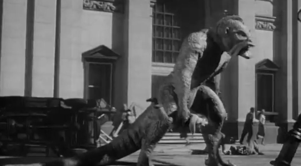 Harryhausen also worked on '20 Million Miles to Earth'