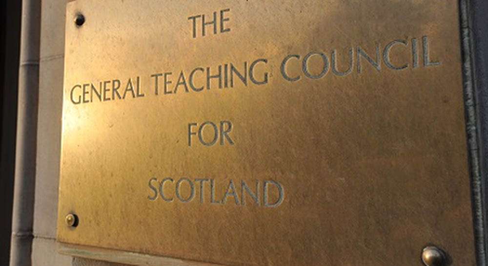 The retired teacher with over 30 years experience was struck off