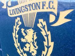 Livingston badge outside the stadium | Livingston news- Scottish Football News