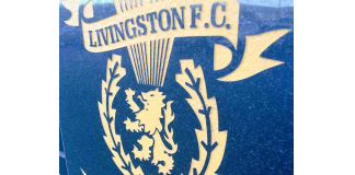 Livingston badge outside the stadium | Livingston news- Scottish Football News