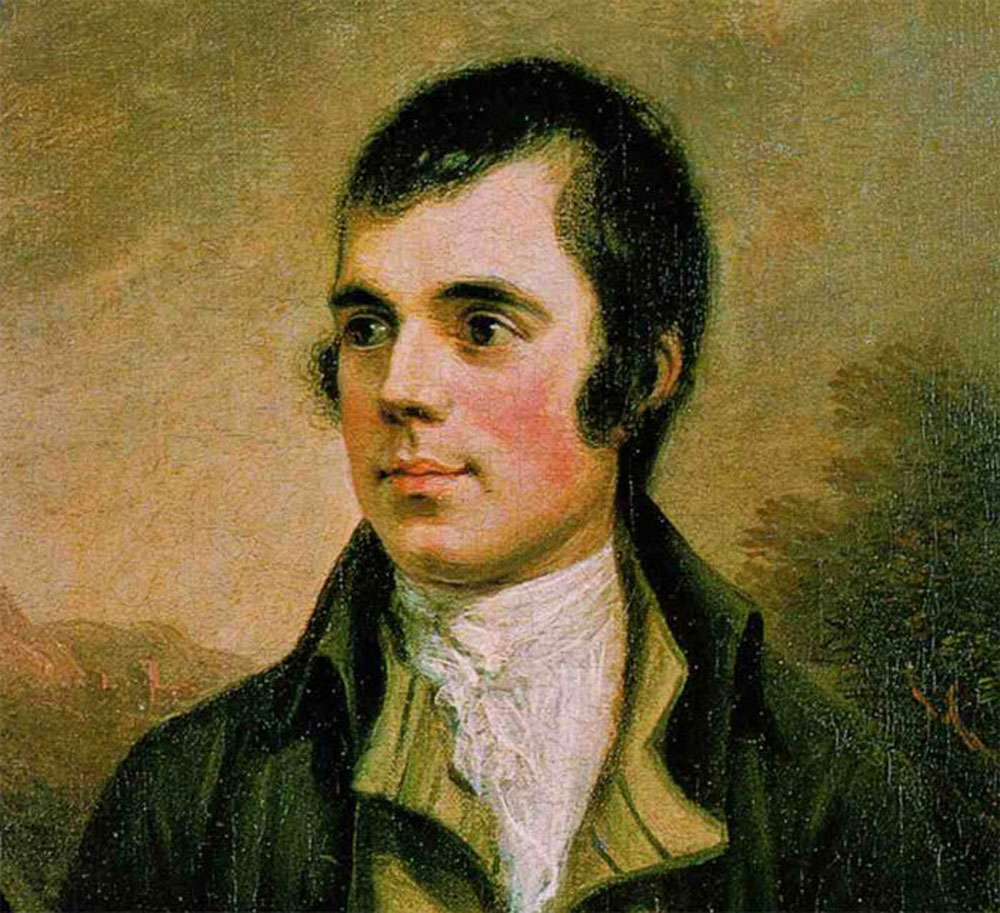 Rabbie Burns was influenced by Ossian's poems.
