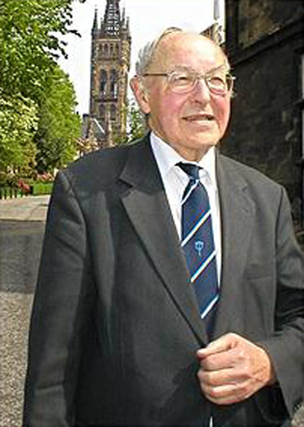 Prof Archie Roy - the founder of the society