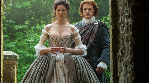 Sam Heughan and Caitriona Balfe star in the hit series