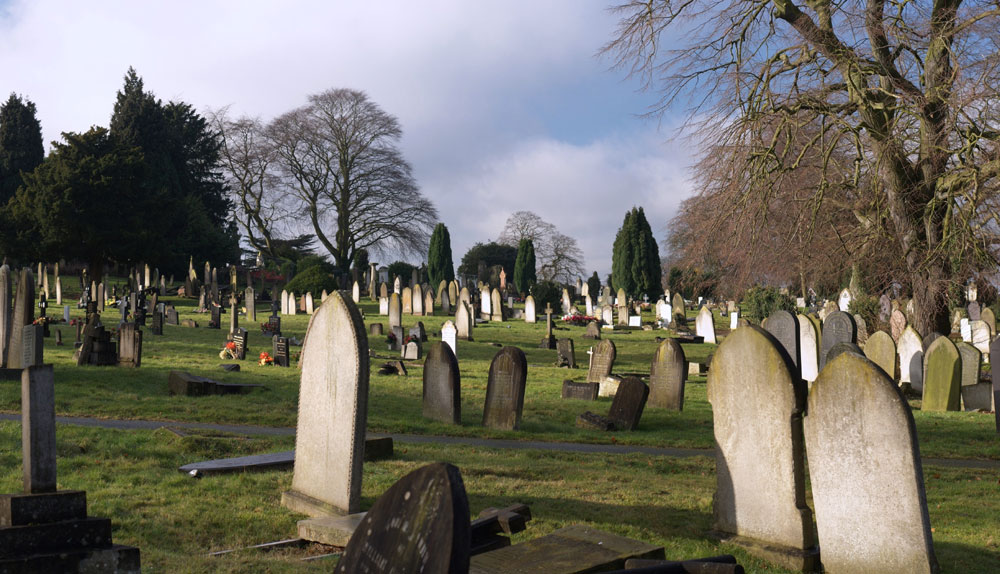 The council have set up more patrols around the cemetery