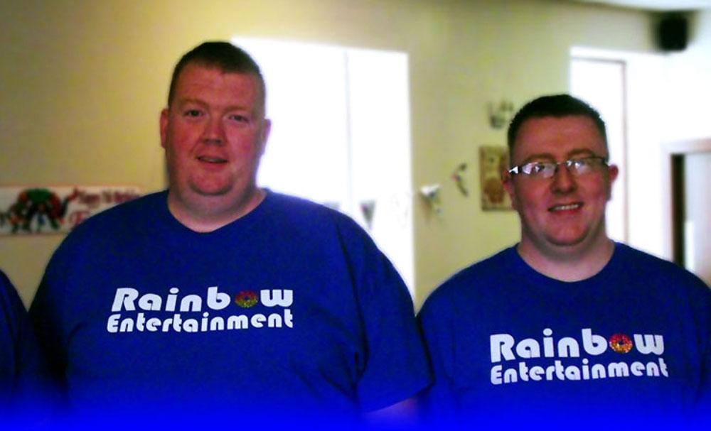 Richard and Sandy set up Rainbow Entertainment together