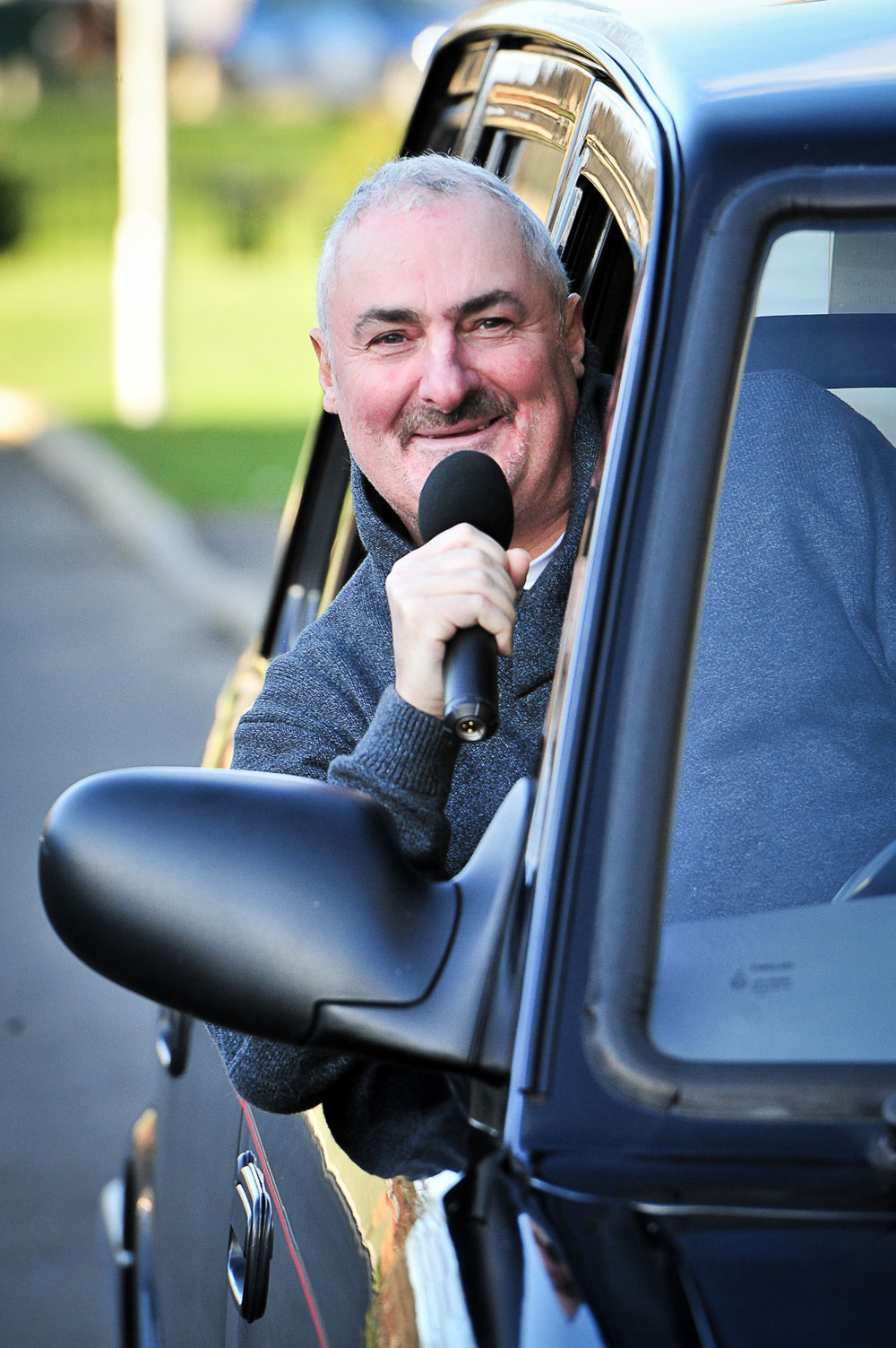 Brian has been a cabbie for over 20 years